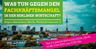 TERMIN VERSCHOBEN! Stadtgespräche Berufliche Bildung – Was tun gegen den Fachkräftemangel in der Berliner Wirtschaft? 4/4