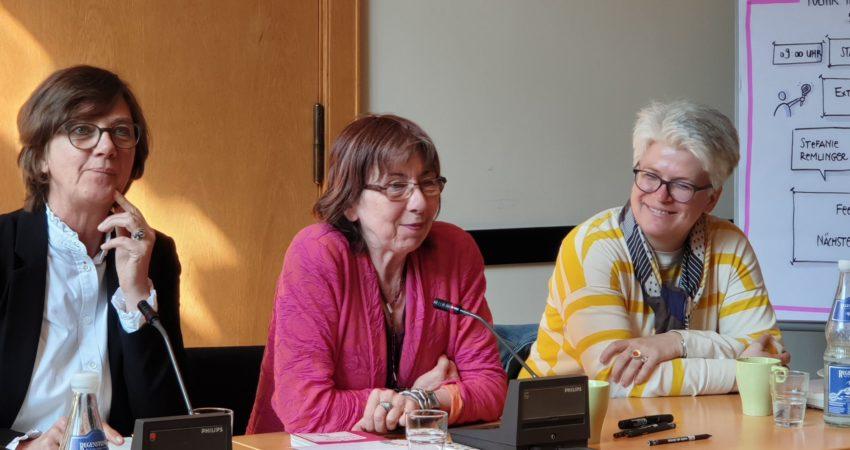 Politik trifft Innovation. Mit Stefanie Remlinger und Margret Rasfeld
