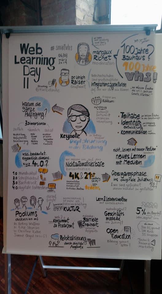Konferenz zum digitalen Lernen Berliner Volkshochschulen. Mit Stefanie Remlinger